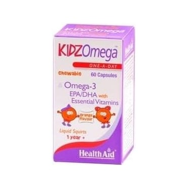KidzOmega 3 & Vitamins Chewable 60caps