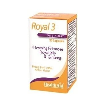 Royal 3 (Royal Jelly, EPO and Korean Ginseng) 30caps
