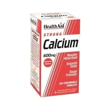 Strong Calcium 600mg Chewable 60tabs