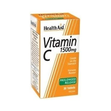Vitamin C 1500mg Prolonged Release 30tabs