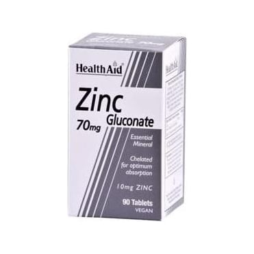 Zinc Gluconate 70mg 90tabs