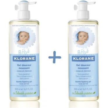 Baby Physiocalenduline Gel Douceur Moussant 2x500ml