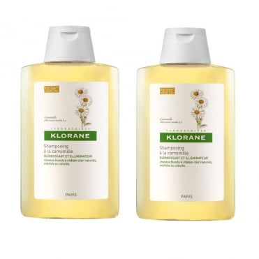 Blond Highlights Shampoo with Chamomile Extract 2x400ml