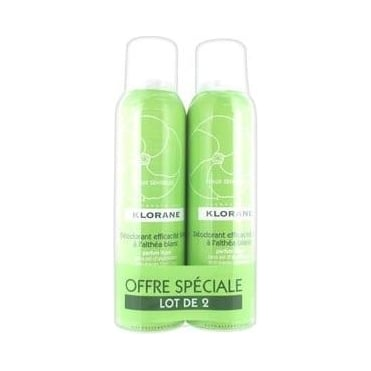Deodorant 24h Spray Duration With White Althea 2x125ml