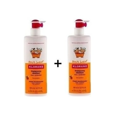 Petit Junior Gentle Shampoo with Peach Scent 2x500ml