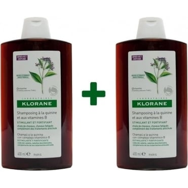 Shampoo With Quinine And Vitamins B 2x400ml