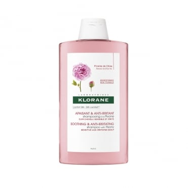 Soothing Shampoo with Peony Extract 400ml