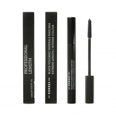 Black Volcanic Minerals Professional Length Mascara 7.5ml