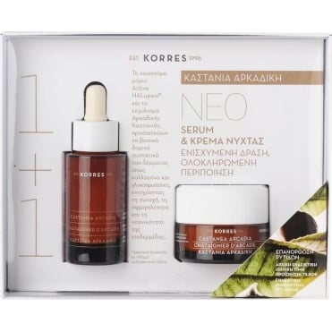 Gift Set Castanea Arcadia Serum 30ml & FREE Night Cream 40ml