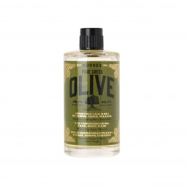 Pure Greek Olive 3 in 1 Nourishing Oil Face, Body, Hair 100ml