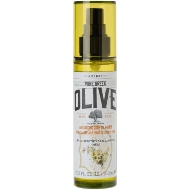 Pure Greek Olive AntiAgeing Body Oil Honey 100ml