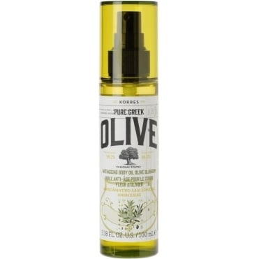 Pure Greek Olive AntiAgeing Body Oil Olive Blossom 100ml