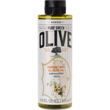 Pure Greek Olive Shower Gel Honey 250ml