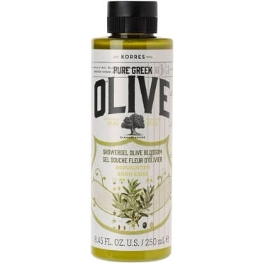 Pure Greek Olive Shower Gel Olive Blossom 250ml