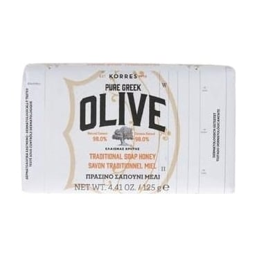 Pure Greek Olive Traditional Soap Honey 125gr