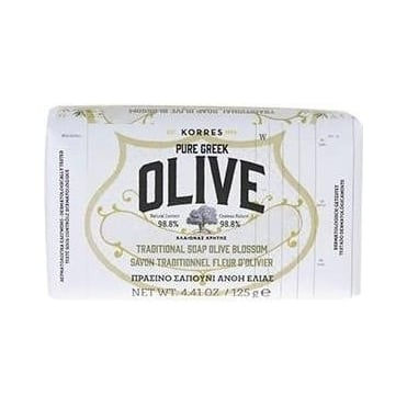 Pure Greek Olive Traditional Soap Olive Blossom 125gr