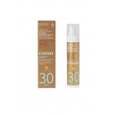 Tinted Antispot Sunscreen Cream Spf30 with Red Grape 50ml