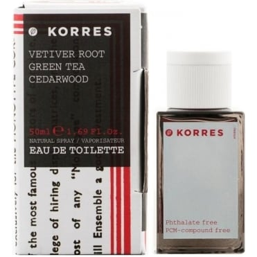 Vetiver Root, Green Tea & Cedarwood Perfume 50ml
