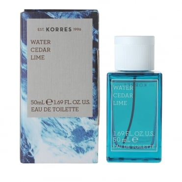 Water Cedar Lime Eau de Toilette 50ml