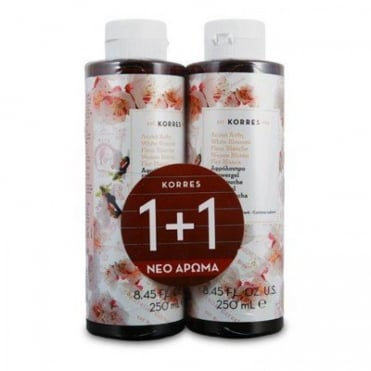 White Blossom Shower Gel 250ml & 1 FREE