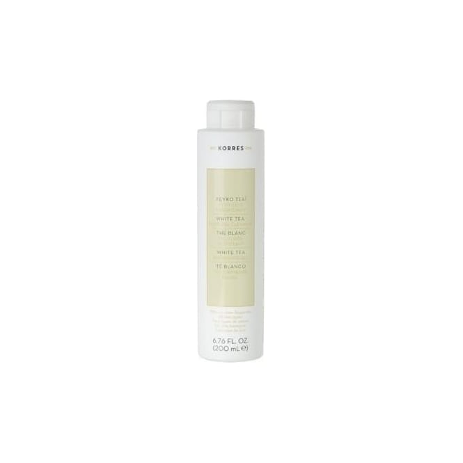 White tea facial fluid gel cleanser