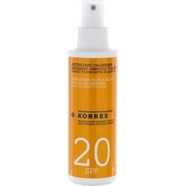 Yoghurt Sunscreen Face & Body Emulsion SPF 20 For Sensitive Skin 150ml