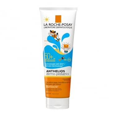 Anthelios Spf50+ Dermo Pediatrics Wet Skin Gel Lotion 250ml
