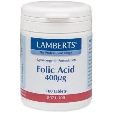 Folic Acid 400mcg 100tbs