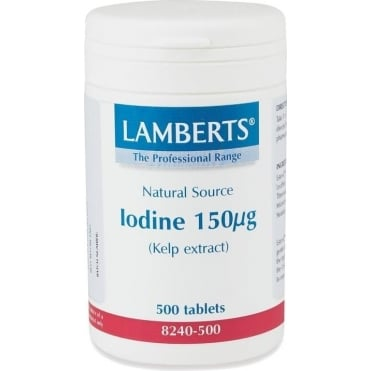 Iodine (Kelp Extract) 150mg 500tbs