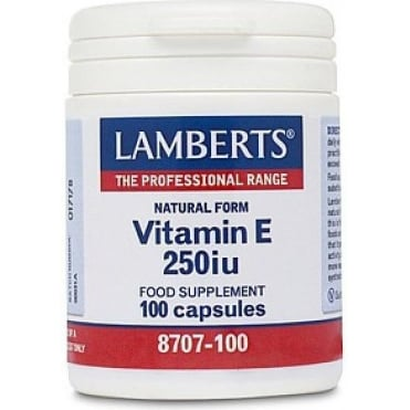 Vitamin E 250 IU 100tbs