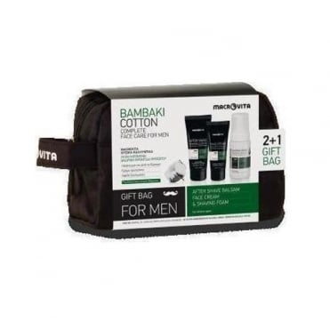 Gift Pack for Men Aftershave Balsam 100ml, Face Cream 50ml & Shaving Foam 125ml