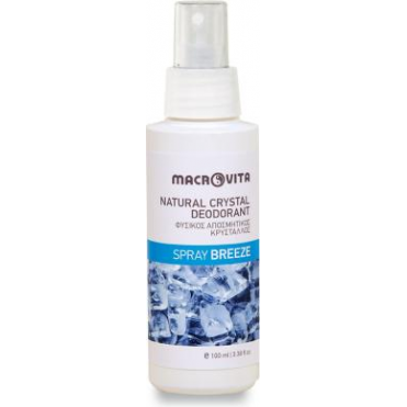 Natural Crystal Deodorant Spray Breeze 100ml