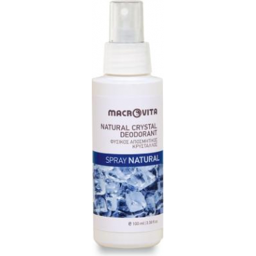 Natural Crystal Deodorant Spray Natural 100ml