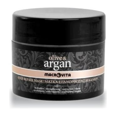 Olive & Argan Hair Repair Mask 200ml