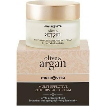 Olive & Argan Multi-Effective 24h Face Cream 50ml