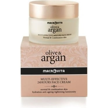 Olive & Argan Multi-Effective 24h Face Cream (Pnm) 50ml