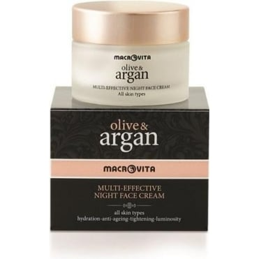 Olive & Argan Multi-Effective 24h Night Face Cream 50ml