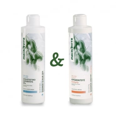 Shower Scrub Spa 250ml & FREE Indulging Shower Cream 250ml