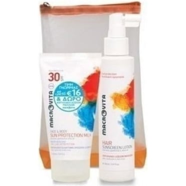 Sun Protection Milk Face & Body Spf30 150ml & FREE Hair Sunscreen Lotion 150ml