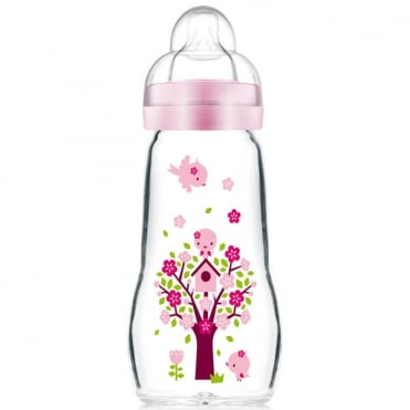 Feel Good Glass Feeding Bottle 260ml