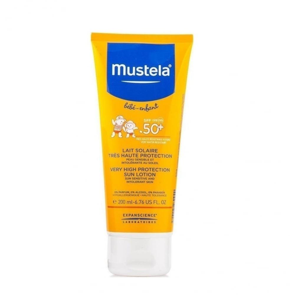 Mustela Very High Protection Sun Lotion Spf50 200ml