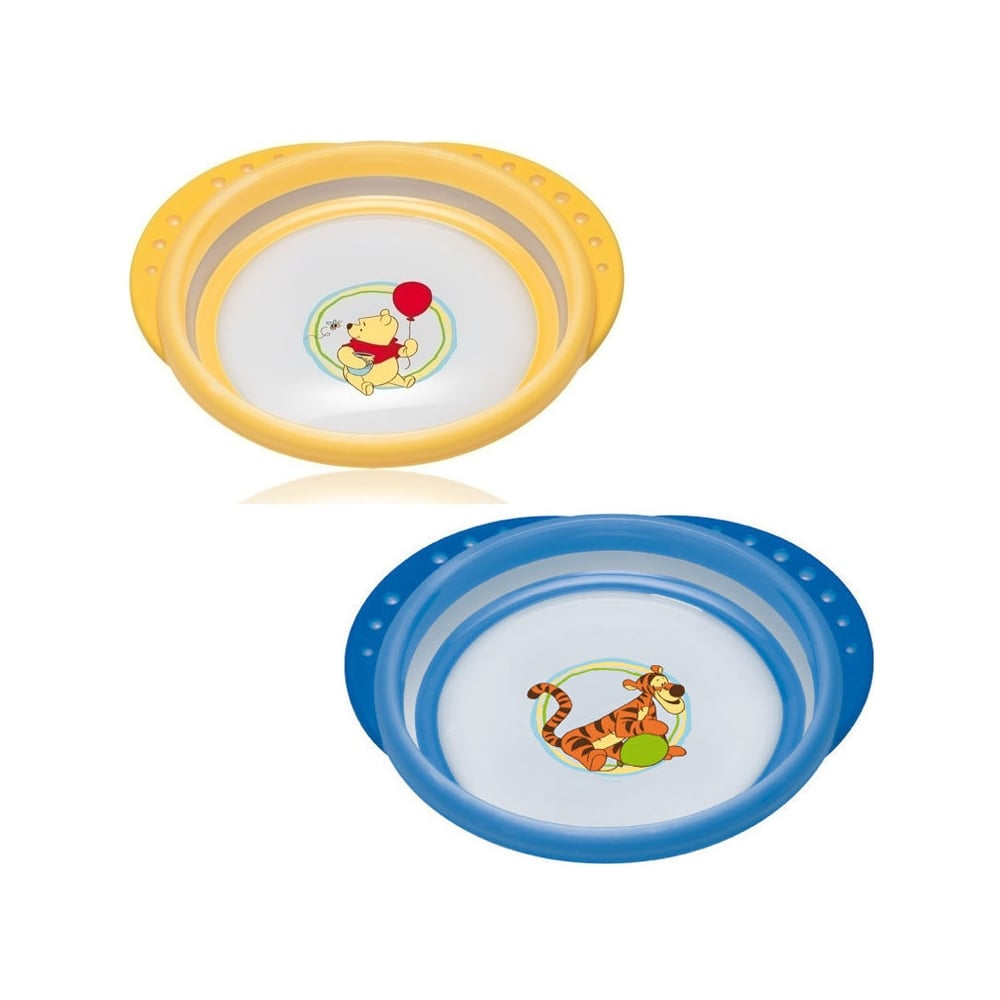 nuk easy learning disney plate with cover 8m mother baby from
