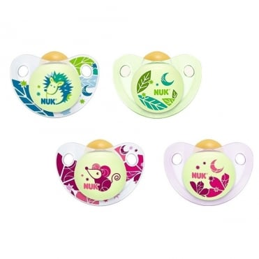 NUK Soother Night & Day Latex 0-6m 1pc