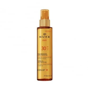 Tanning Oil High Protection for Face and Body SPF30 150ml