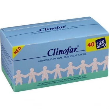 Clinofar Ampules (40+20FREE) 60x5ml