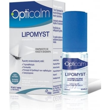 Opticalm Lipomyst Eye Spray 10ml