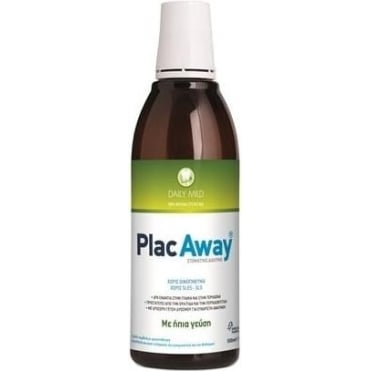 Plac Away Daily Care Mild Oral Solution 500ml