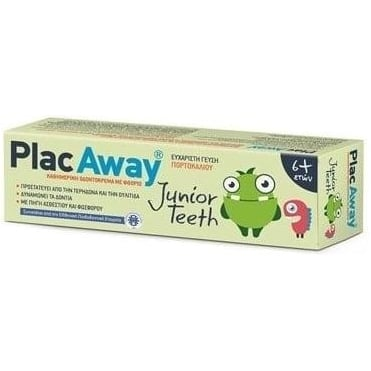 Plac Away Junior Teeth Toothpaste 6+ Years 50ml