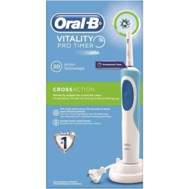 Braun Vitality CrossAction 2D Electric Toothbrush