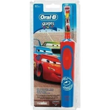 Vitality Stages Power Disney Cars Kid's Electric Toothbrush 3+ years